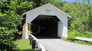 Comstock Covered Bridge (Montgomery, Vermont)