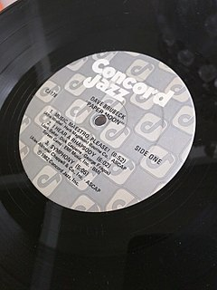 Concord Jazz US record label; imprint of Concord Bicycle Music