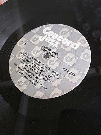 Concord Jazz - Concord Jazz label