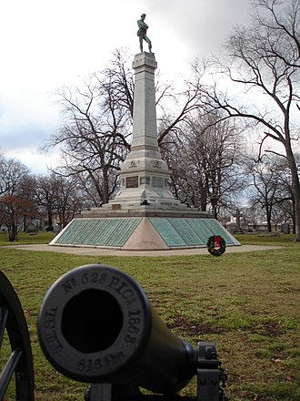 Oak Woods Cemetery - Confederate Mound