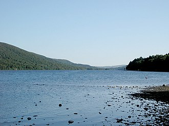 Coniston Water - Image: Coniston From Campsite