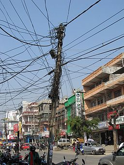 Connections on Chipledhunga, Pokhara, Nepal