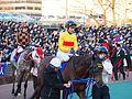 Copano Rickey and Keita Tosaki in Tokyo Daishoten Day at Oi racecourse (31836444972).jpg