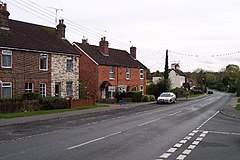 Copthorne village - main road. - geograph.org.uk - 75507.jpg