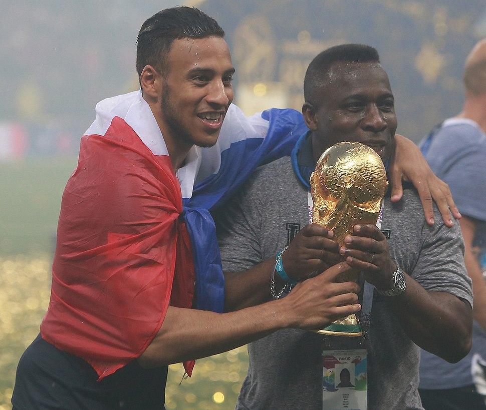 Corentin Tolisso World Cup Trophy