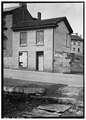 Cornish Miner's House No. 1, 114 Shakerag Alley, Mineral Point, Iowa County, WI HABS WIS,25-MINPO,1-1.tif