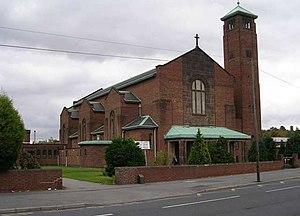 Corpus Christi Catholic College - Corpus Christi Catholic Church, the adjacent church and namesake of the school.