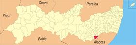 Localização das Correntes