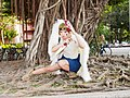 Cosplayer of San, Princess Mononoke 20150418.jpg