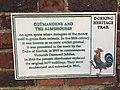 Cotmandene, Dorking plaque.jpg