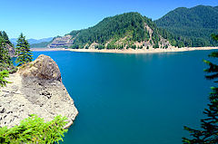 Cougar Reservoir (Lane County, Oregon scenic images) (lanDB3813).jpg