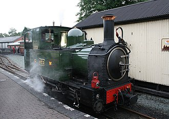 Welshpool and Llanfair Light Railway - Image: Countess