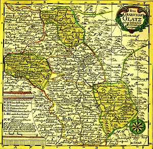 County of Kladsko - Grafschaft Glatz, 18th century