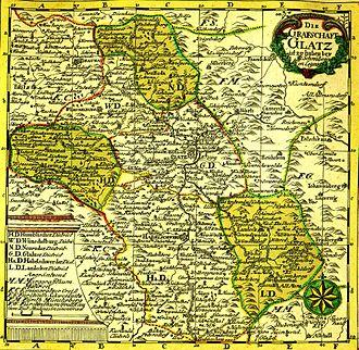 County of Kladsko - Grafschaft Glatz, 18th century