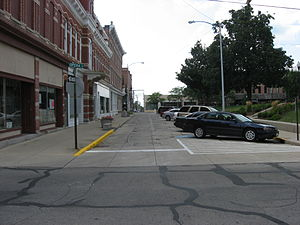 National Register of Historic Places listings in Logan County, Ohio - Image: Court Avenue in Bellefontaine