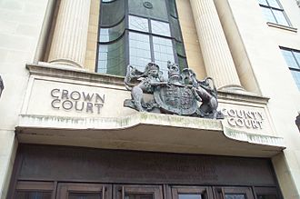 Courts of England and Wales - Crown Court and County Court in Oxford.