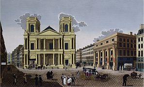 Glise saint eustache de paris wikip dia for Architecte st eustache