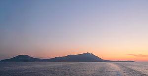 Silhouette von Ischia