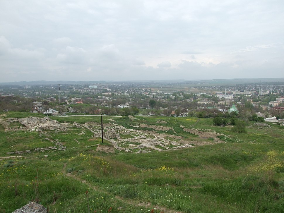 Crimea Kerch Mrirmekiy archeological site-18