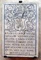 Cripta di san lorenzo (salone donatello), stemma giorgio weiss di norimberga.JPG