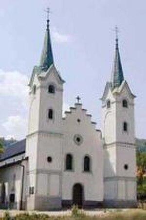 Dolac, Travnik - Image: Crkva Uznesenja Marijina Dolac Travnik