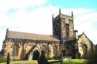 Crofton, West Yorkshire Village near Wakefield in West Yorkshire, England