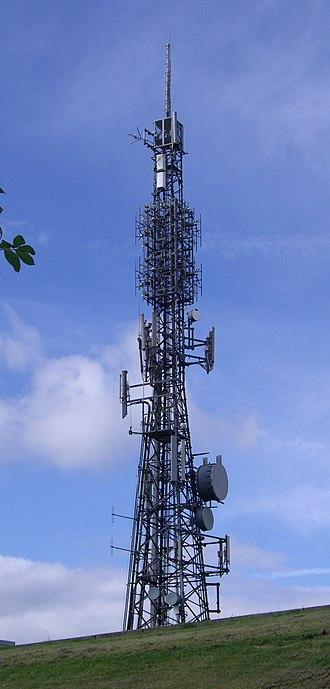 Crosspool - The Crosspool transmitter is a prominent landmark across Sheffield.