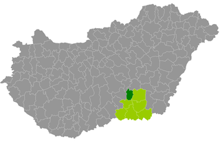 Csongrád District Districts of Hungary in Csongrád
