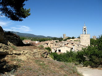 Cucuron - View of Cucuron