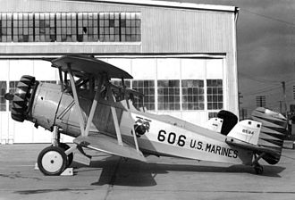 VMO-6 - Curtiss O2C-1s flown by VO-6M in the early 1930s.
