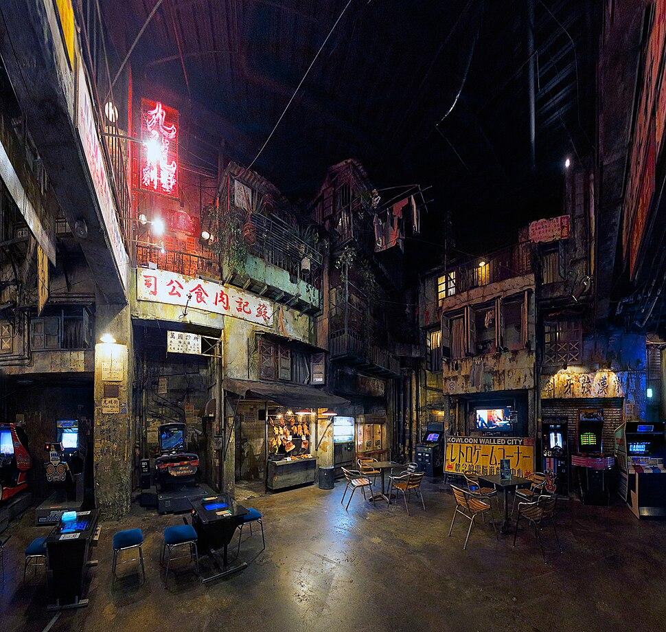Cyber Kowloon Walled City - 01. 2nd floor - Warehouse Kawasaki, 2014-06-02 (by Ken OHYAMA)