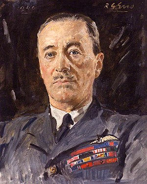 Cyril Newall, 1st Baron Newall - A 1940 portrait of Newall by Reginald Grenville Eves.