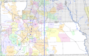 unincorporated orange county florida map