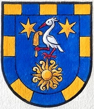 Nico F. Declercq - Arms of Nico F. Declercq and his descendants as depicted in the Old Armoral of the Swiss Heraldic Society (SHG)
