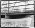 DETAIL OF UNDERSIDE OF BRIDGE AT NORTH END - Sock Road Bridge, Spanning Beaver Dam River, Lowell, Dodge County, WI HAER WIS,14-LOW,1-9.tif