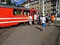 DOD vozovna Strašnice, mazací tramvaj, fronta.jpg