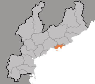 Sinpo Municipal City in South Hamgyong Province, North Korea