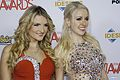 Daisy Destin and Jemma Valentine at AVN Awards 2016 (26672044015).jpg