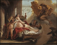Danaë and the Shower of Gold (Jonas Hoffman) - Nationalmuseum - 18315.tif