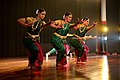 Dancers perform during a cultural performance prior to the State Dinner at Rashtrapati Bhawan in New Delhi.jpg