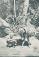 Dancing with Masks in Bismarck Archipelago (from a book Published in 1931) P.271.png