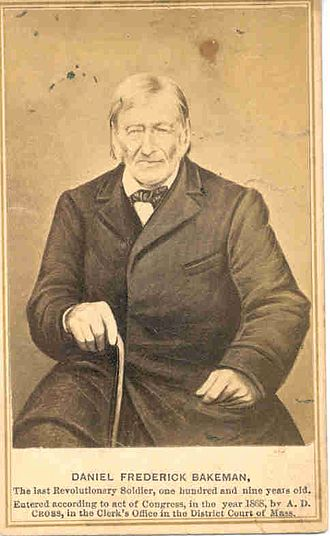 Daniel F. Bakeman - Image: Daniel Frederick Bakeman portrait with text