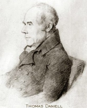 Thomas Daniell - Portrait of Thomas Daniell, date unknown