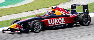 Daniil Kvyat - Kvyat during Race 1 of the 2010 Formula BMW Pacific season at Sepang International Circuit