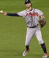 Dansby Swanson fields a ground ball from Nationals vs. Braves at Nationals Park, September 12th, 2020 (All-Pro Reels Photography) (50337478542) (cropped).jpg