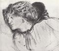 Dante Gabriel Rossetti Head Study for Found (Fanny Cornforth).png