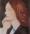 Dante Gabriel Rossetti Portrait of Elizabeth Siddal 1854.png
