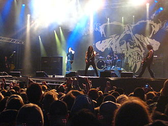 Glenn Danzig - Glenn Danzig performing with Danzig at Sweden Rock (2010)