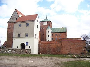 Pomerania during the Early Modern Age - Ducal castle in Rügenwalde (Darlowo)