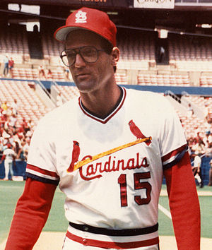 Darrell Porter - Porter with the St. Louis Cardinals in 1983